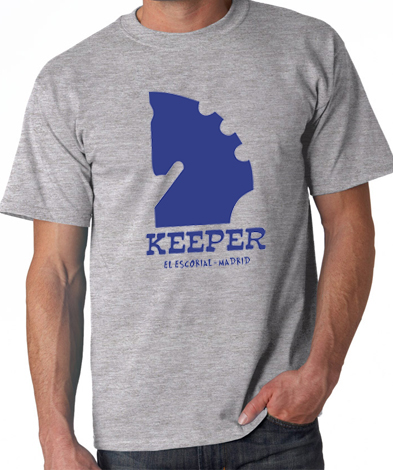 camiseta keeper ibiza ilove80s