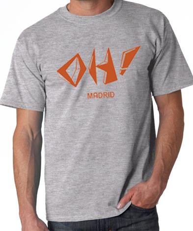 camiseta oh madrid ilove80s