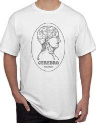 CEREBRO BLANCA 190x243 - Camiseta CEREBRO Blanca