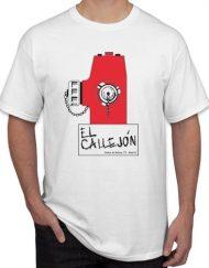 EL CALLEJON BLANCA 190x243 - Camiseta EL CALLEJÓN Blanca
