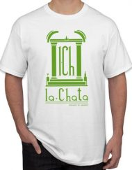 LA CHATA BLANCA 190x243 - Camiseta LA CHATA Blanca