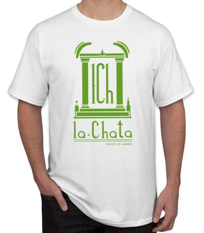 LA CHATA BLANCA - Camiseta LA CHATA Blanca