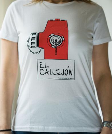 camiseta el callejon chica