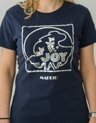 camiseta joy eslava miss chica azulk 190x243 - Camiseta Mujer JOY ESLAVA Azul y Plata