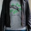 green miss chica cuero negra 100x100 - Camiseta Mujer GREEN Gris