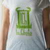 camiseta la chata madrid ilove80s