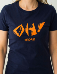 oh madrid chica miss 190x243 - Camisetas Mujer