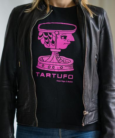 camiseta tartufo madrid chica