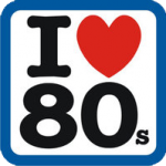 logo i love 80s