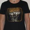 cariatide negra  100x100 - Camiseta Mujer CARIÁTIDE Oro y Negro