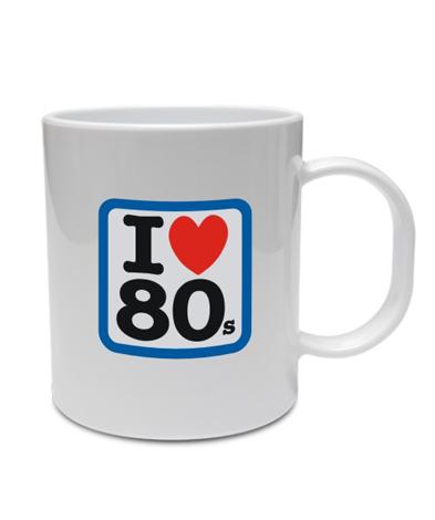 taza ilove80s - Taza I LOVE 80s