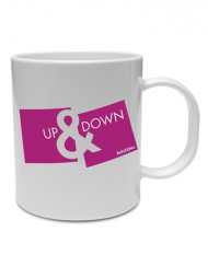 taza up down 190x243 - Taza UP&DOWN Rosa
