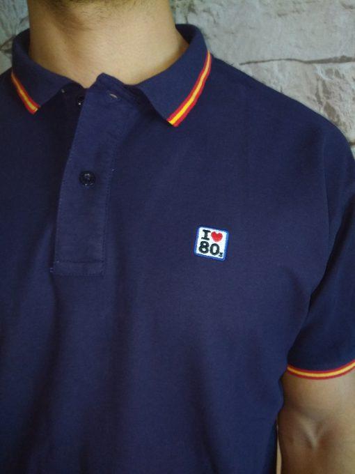 IMG 20180417 155349 510x680 - Polo I LOVE 80s Azul Marino