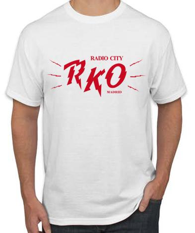 RKO BLANCA - Camiseta RKO Blanca