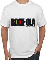 ROCKOLA 190x243 - Camiseta ROCK-OLA Blanca