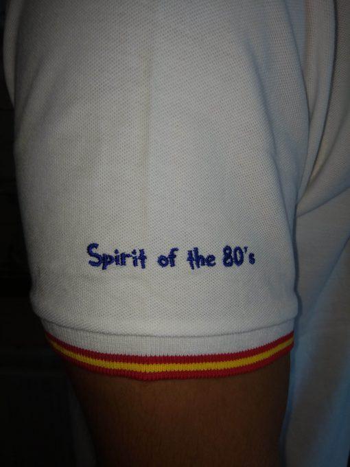 polo blanco1 510x680 - Polo I LOVE 80s Blanco