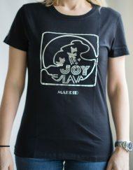 Ilove80s 3 190x243 - Camiseta Mujer JOY ESLAVA Negro y Plata