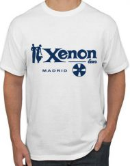 XENON BLANCA 190x243 - Camiseta XENON Blanca
