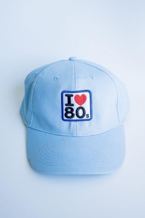 Gorras Azul Cielo 1 510x765 - Gorra I LOVE 80s Azul Cielo