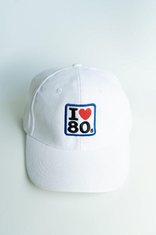 Gorras I love 80s Blanca 1 510x765 - Gorra I LOVE 80s Blanca