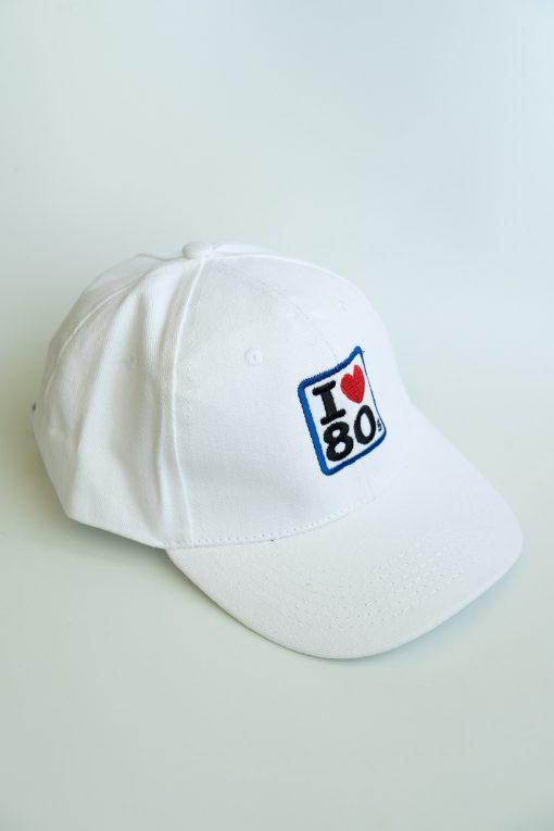 Gorras I love 80s Blanca 3 510x765 - Gorra I LOVE 80s Blanca