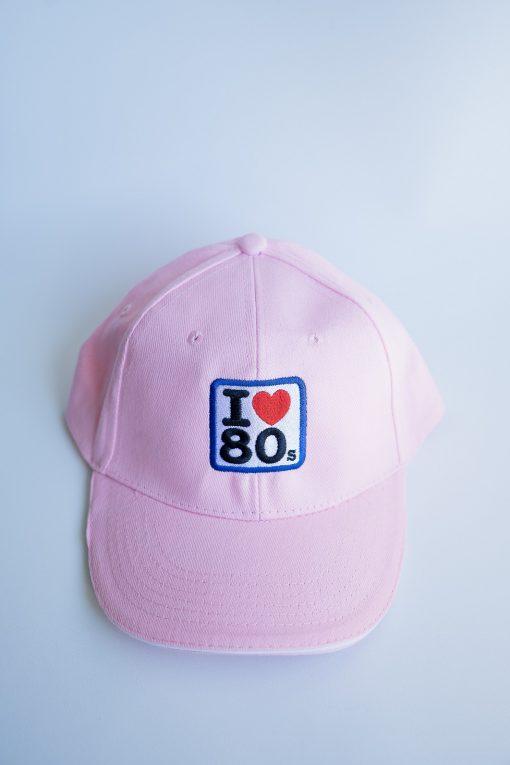 Gorras I love 80s Rosa 1 510x765 - Gorra I LOVE 80s Rosa