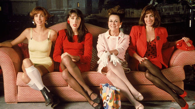 mujeres al borde de un ataque de nervios - El cine español de los 80