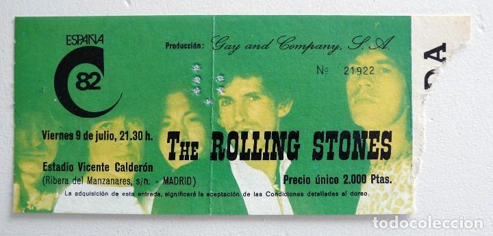 rolling stones madrid - Rolling Stones: su primer concierto en Madrid en 1982