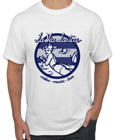 CAMISETA LA VIA LACTEA BLANCA - Camiseta LA VÍA LÁCTEA Blanca