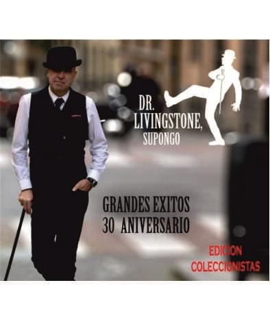 CARATULA LIVINGSTONE WEB - CD Dr. Livingstone 30 Aniversario