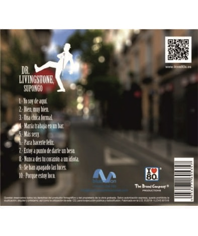 TRASERA LIVINGSTONE WEB - CD Dr. Livingstone 30 Aniversario