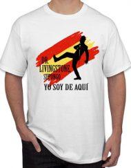 YO SOY DE AQUI BLANCA 190x243 - Camiseta YO SOY DE AQUI. Dr. Livingstone Blanca