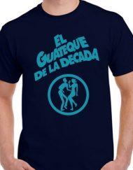CAMISETA GUATEQUE AZUL 190x243 - Camiseta EL GUATEQUE DE LA DÉCADA Azul Marino