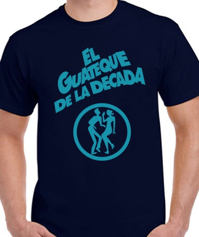 CAMISETA GUATEQUE AZUL - Pack Camiseta Azul+ CD JUGANDO A RECORDAR