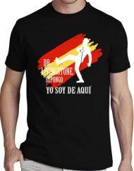 CAMISETA NEGRA DR LIVINGSTONE 190x243 - Pack Camiseta Negra+ CD YO SOY DE AQUI
