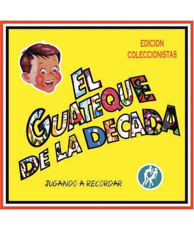 CARATULA DECADA WEB - Pack Camiseta Azul+ CD JUGANDO A RECORDAR