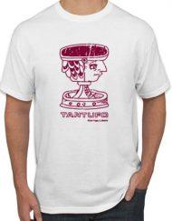 TARTUFO VINO ROTO 190x243 - Camiseta TARTUFO Blanca LOGO Efecto Roto