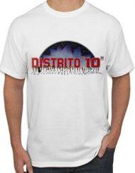 DISTRITO 10 BLANCA 190x243 - Camiseta DISTRITO 10
