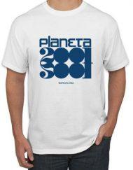 PLANETA2001 BLANCA 190x243 - Camiseta PLANETA2001