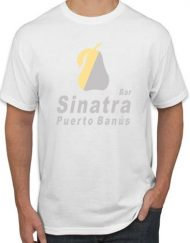 SINATRA BLANCA 190x243 - Camiseta SINATRA