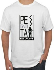 EL PENTA BLANCA 190x243 - Camiseta  PENTA BAR Blanca