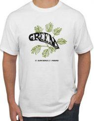 GREEN BLANCA 190x243 - Camiseta GREEN Blanca