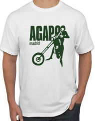 AGAPO BLANCA VERDE 190x243 - Camiseta AGAPO Blanca