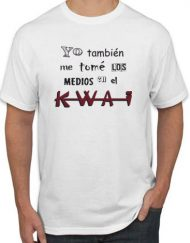 KWAI 190x243 - Camiseta KWAI Blanca