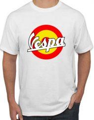 VESPA BLANCA 190x243 - Camiseta VESPA
