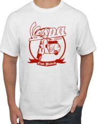 VESPA CLUB BLANCA 190x243 - Camiseta VESPA MOTO CLUB