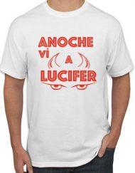 LUCIFER BLANCA ROJO 190x243 - Camiseta LUCIFER BLANCA ROJO