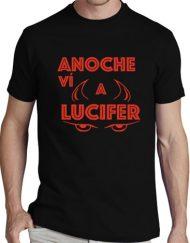 LUCIFER NEGRA ROJO 190x243 - Camiseta LUCIFER NEGRA Letra Roja