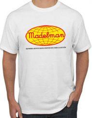 MADELMAN BLANCA 190x243 - Camiseta MADELMAN Blanca