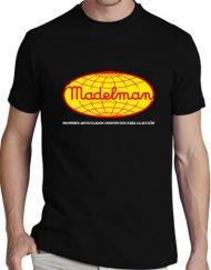 MADELMAN NEGRA 190x243 - Camiseta MADELMAN Negra
